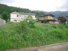 富士河口湖町河口 売り地の間取り図